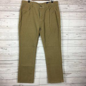Vineyard Vines Mens Corduroy Pants 36×32 Brown